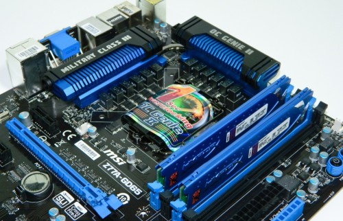 Futurelooks Previews the NEW MSI Z77A-GD65 Military Class III LGA1155 ATX Motherboard