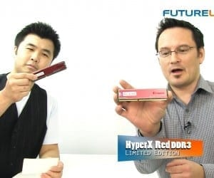 Futurelooks Talks Kingston - New HyperX Red Memory, HyperX 3K SSD, and a Word on USB Drive Security (Video)