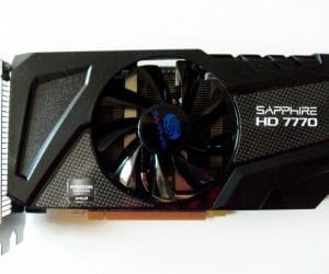 Sapphire Radeon HD 7770 GHz Edition OC Video Card Review