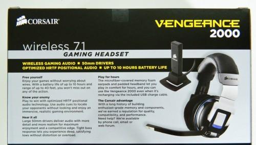 CORSAIR Vengeance 2000 Wireless 7.1 Gaming Headset Review