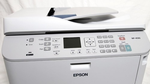 Epson WorkForce Pro WP-4590 Multifunction Printer Review