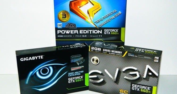 NVIDIA GTX 660 Ti Launch Day Round Up Featuring EVGA vs. GIGABYTE vs. MSI - FIGHT!