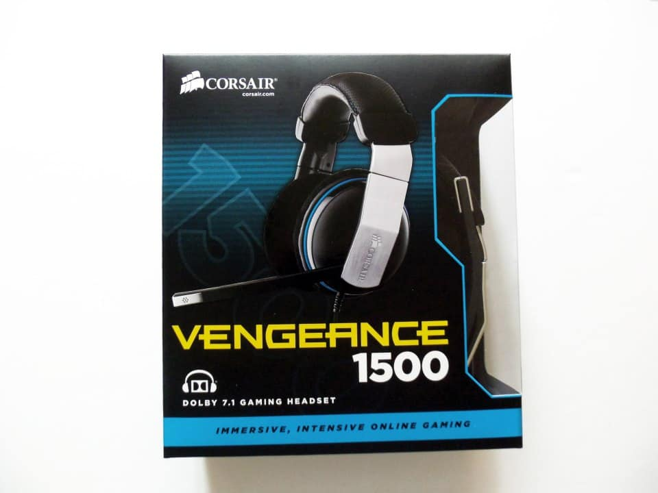 Corsair Vengeance 1500 USB 7.1 Gaming Headset Review