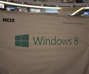 Futurelooks Checks Out the NCIX Windows 8 Launch Party (Video)