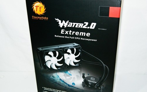 Thermaltake Water 2.0 Extreme 240mm Liquid Cooling System Review