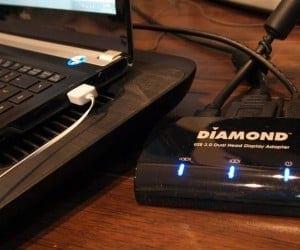 Diamond Multimedia Dual View DV100 USB 3.0 Dual Display Graphics Adapter Review