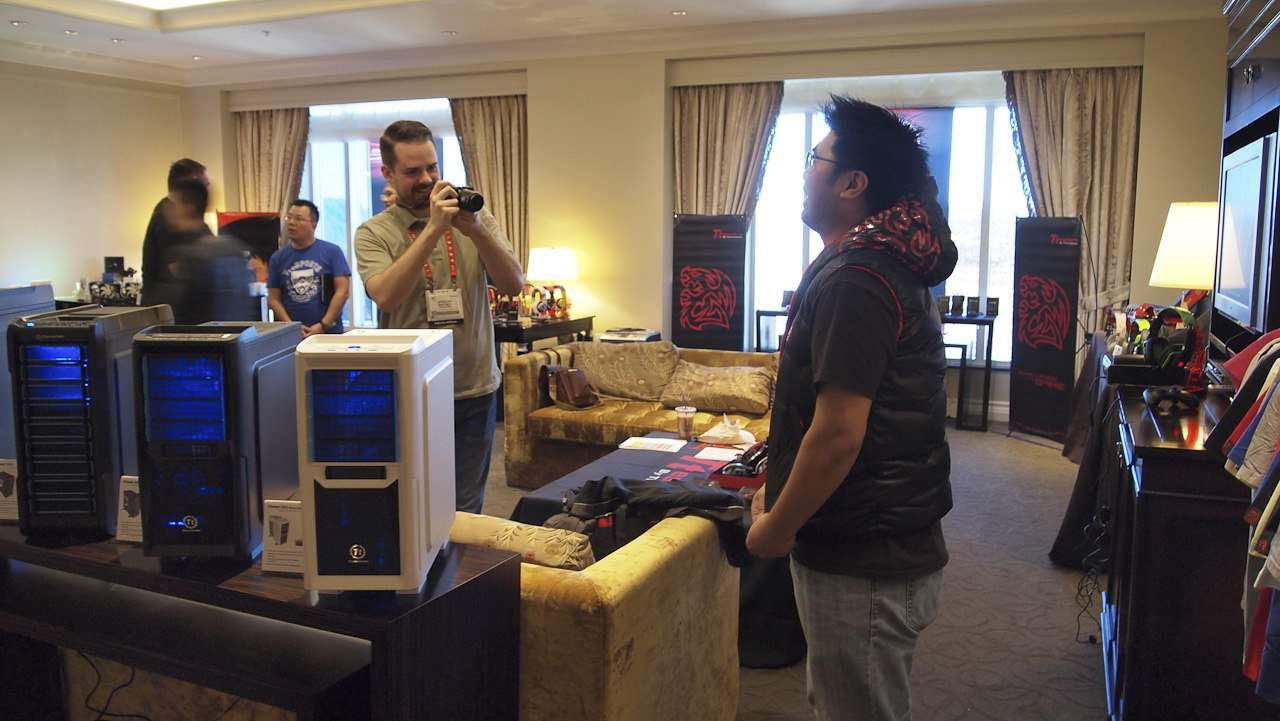 CES 2013 Video Coverage - Episode One - LaCie, bequiet!, Tt eSports, Thermaltake and ASUS