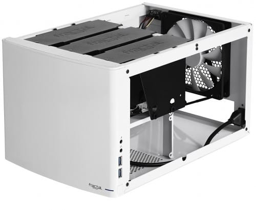 "Fractal Design Unveils a ""Snow White"" Edition of their Node 304 Mini ITX Enclosure"