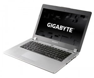 COMPUTEX 2013 - GIGABYTE Releases New Ultra Thin Gaming Notebooks
