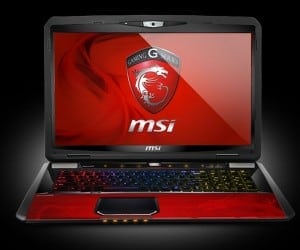 COMPUTEX 2013 - MSI Shatters Previous Portable Gaming Benchmarks