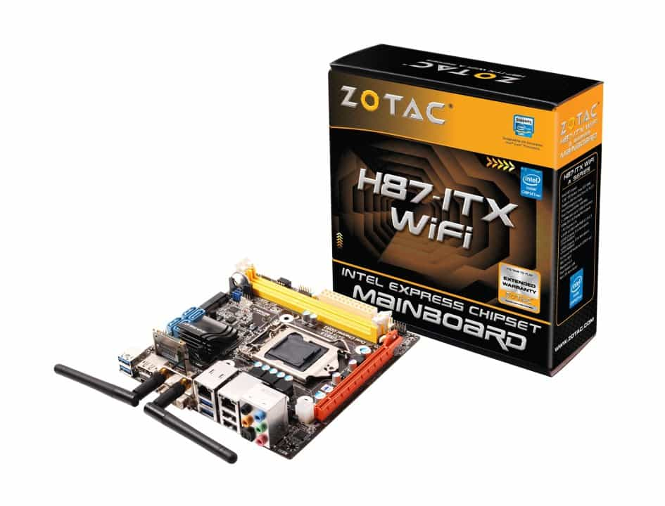 """ZOTAC Brings Intel's """"Haswell"""" to Mini-ITX With H87 Chipset"""