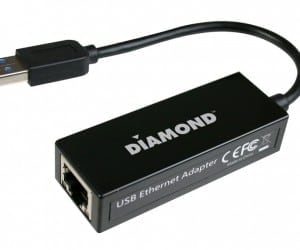 Diamond Multimedia Introduces the UE3000 USB 3.0 to Gigabit Ethernet Adapter