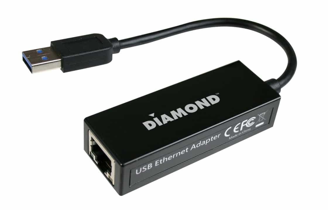 Diamond Multimedia Introduces the UE3000 USB 3.0 to Gigabit Ethernet Adapter