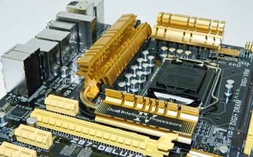 ASUS Z87 Deluxe Motherboard 4