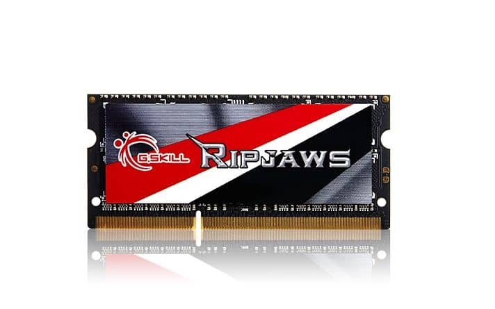 G.Skill Announces New Ripjaws Series Memory Kits for Laptops
