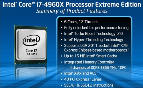 Intel Core i7-4960X Extreme Processor Review 8