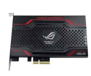 The ASUS ROG RAIDR Brings High Speed PCI-Express SSDs to the Masses