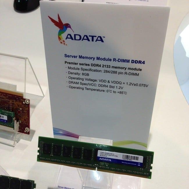 IDF 2013 - ADATA Technology Also Displays Their DDR4 Memory Kits