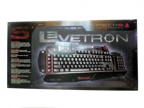 The AZiO Levetron Mech 5 Mechanical Gaming Keyboard Reviewed