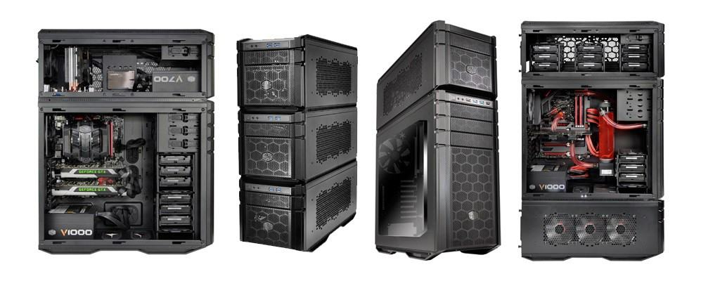 The Cooler Master HAF Stacker is Many Cases in One