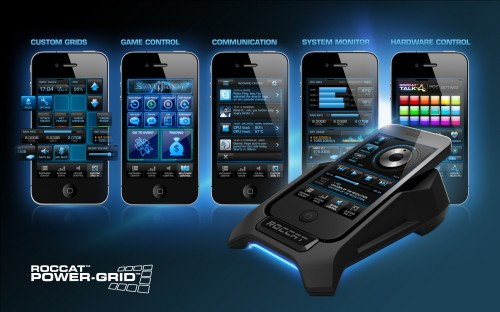 ROCCAT Power-Grid - Turns Your Smartphone Into a Deadly PC Gaming Weapon