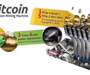 ASRock Releases Motherboards Optimized for Bitcoin Mining