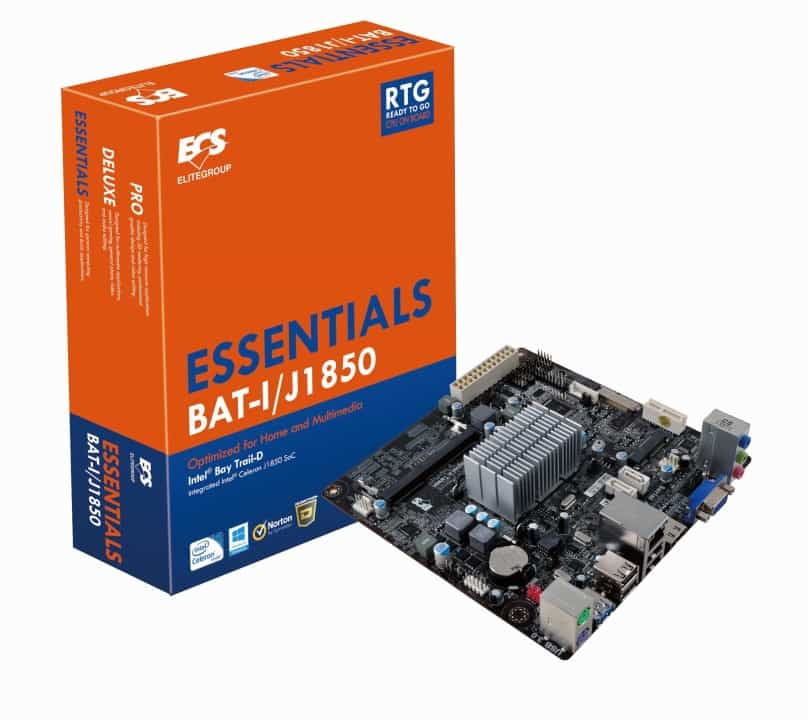 """ECS Launches Intel Bay Trail """"Ready-to-Go"""" Series mITX Motherboards"""