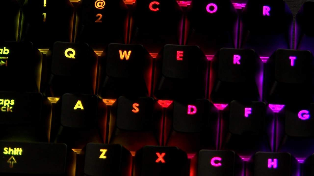 CES 2014 - Corsair New Cherry MX RGB Switches Bring Color to Mechanical Keyboards