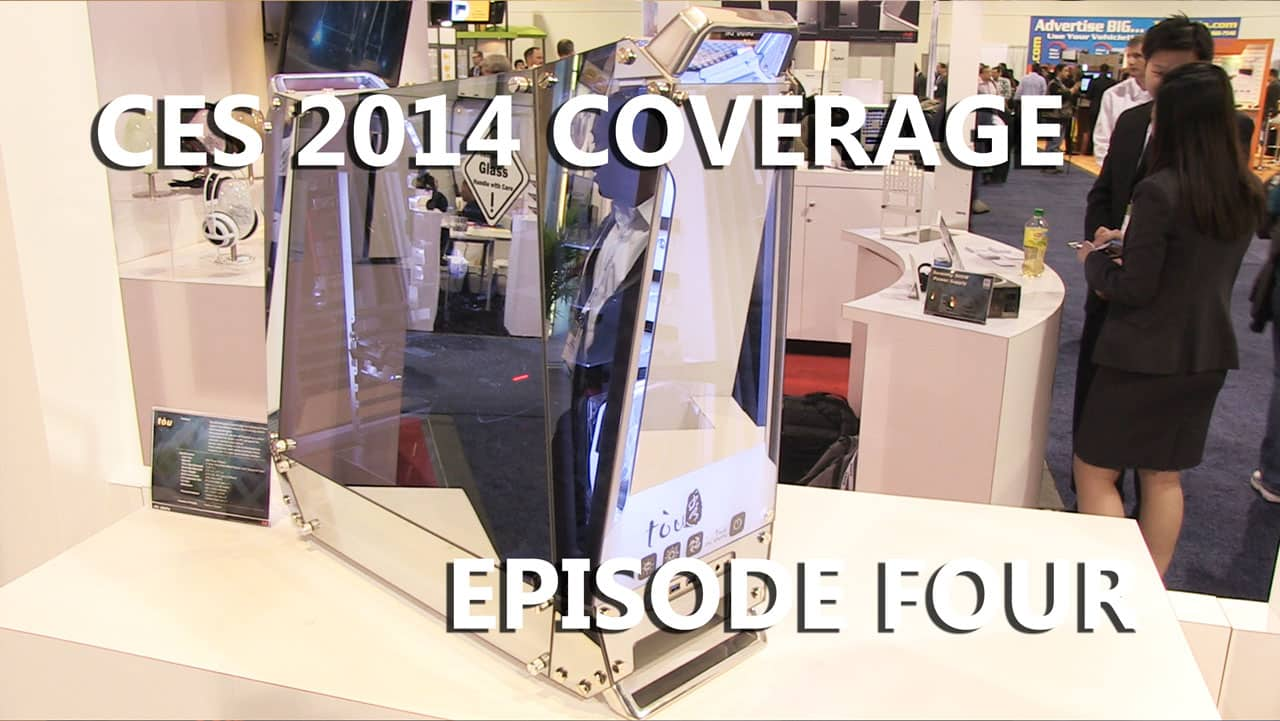 Episode #4 – CES 2014 Coverage Featuring InWin, NVIDIA, LaCie, Corsair and Tt eSPORTS (Video)