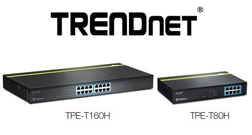 Shocking New 8 and 16 Port PoE Switches from TRENDnet