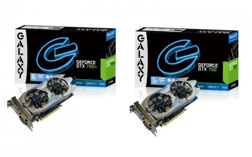 Galaxy to Release New Nvidia GTX 750 Ti with Phantom Cooler