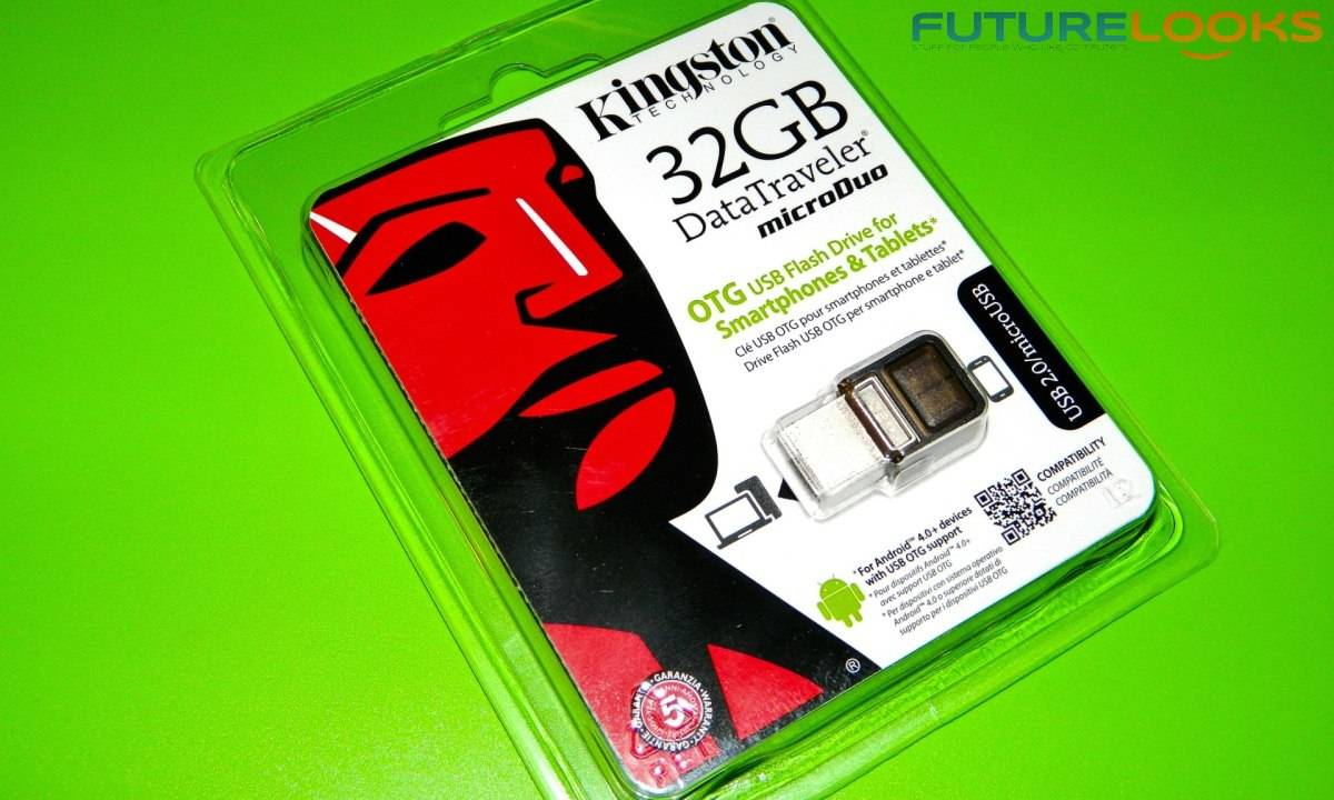 The Kingston 32GB DataTraveler microDUO OTG USB Flash Drive Reviewed