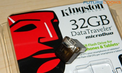 Kingston 32GB DataTraveler microDUO OTG Flash Drive 5