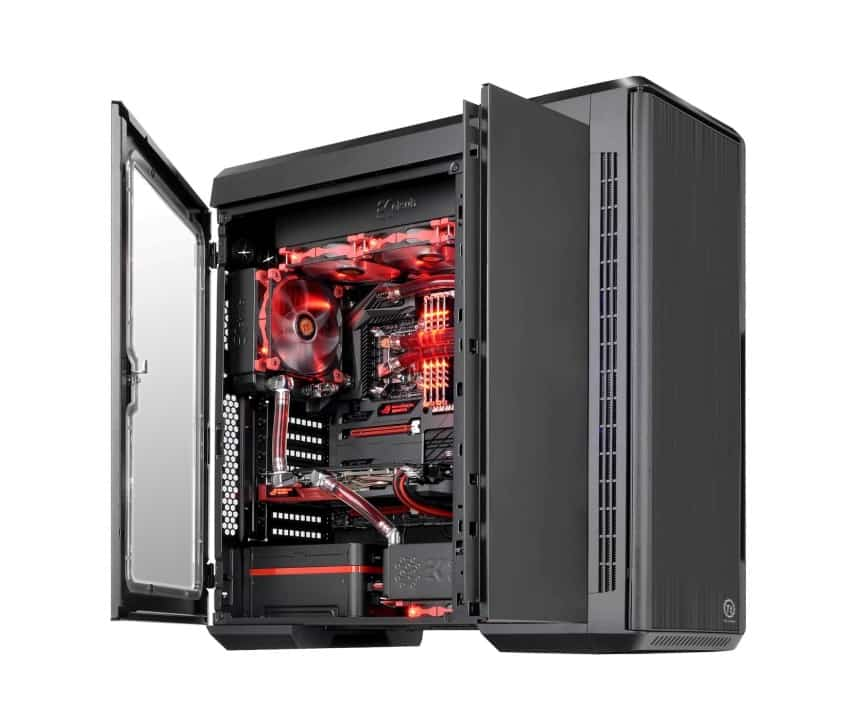Thermaltake Urban T81 Comes with Double the Cooling and Double the Doors