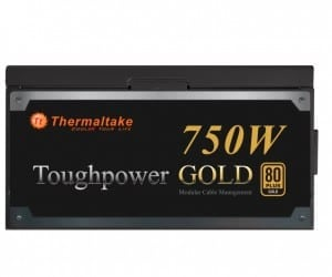 Thermaltake Adds a Little Gold to their Line of Power Supplies