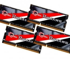 G.SKILL Releases Industry's First DDR3L SO-DIMM 2133MHz 32GB