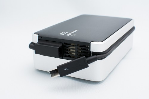 WD My Passport Pro 4TB thunderbolt-exhaust-fan