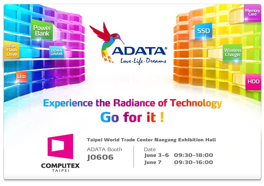 Pre-COMPUTEX 2014 - ADATA Showing All Kinds of Goodies