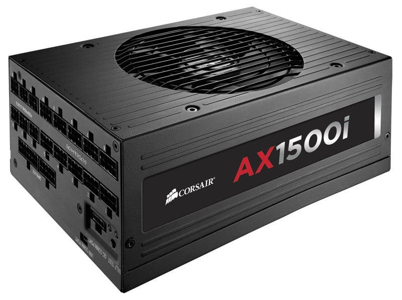 New Corsair AX1500i Rewrites the 80+ Rating System