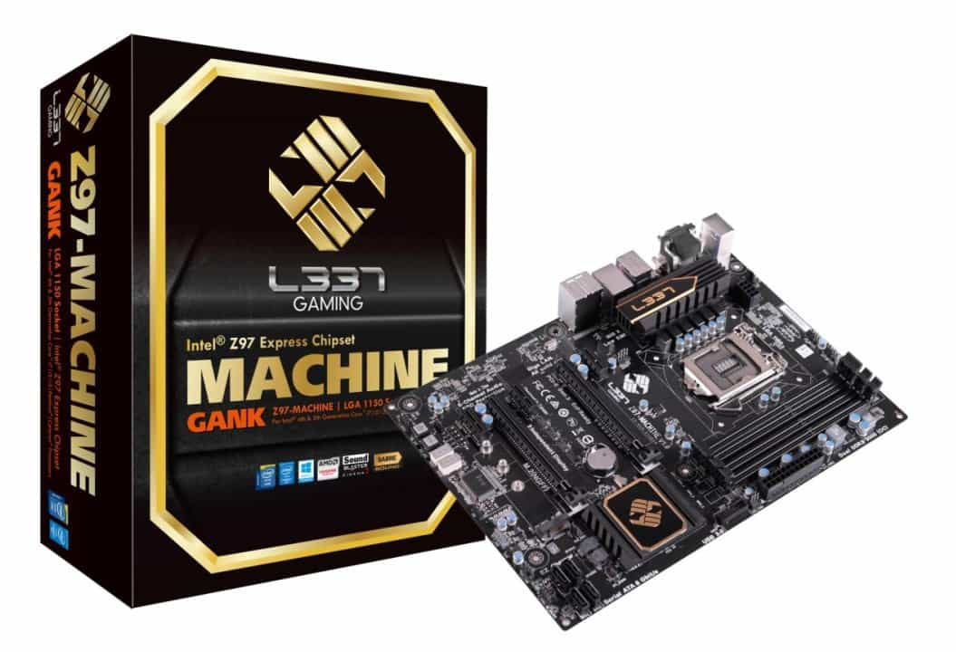 ECS Launches New L337 Motherboard for the Intel 9 Series