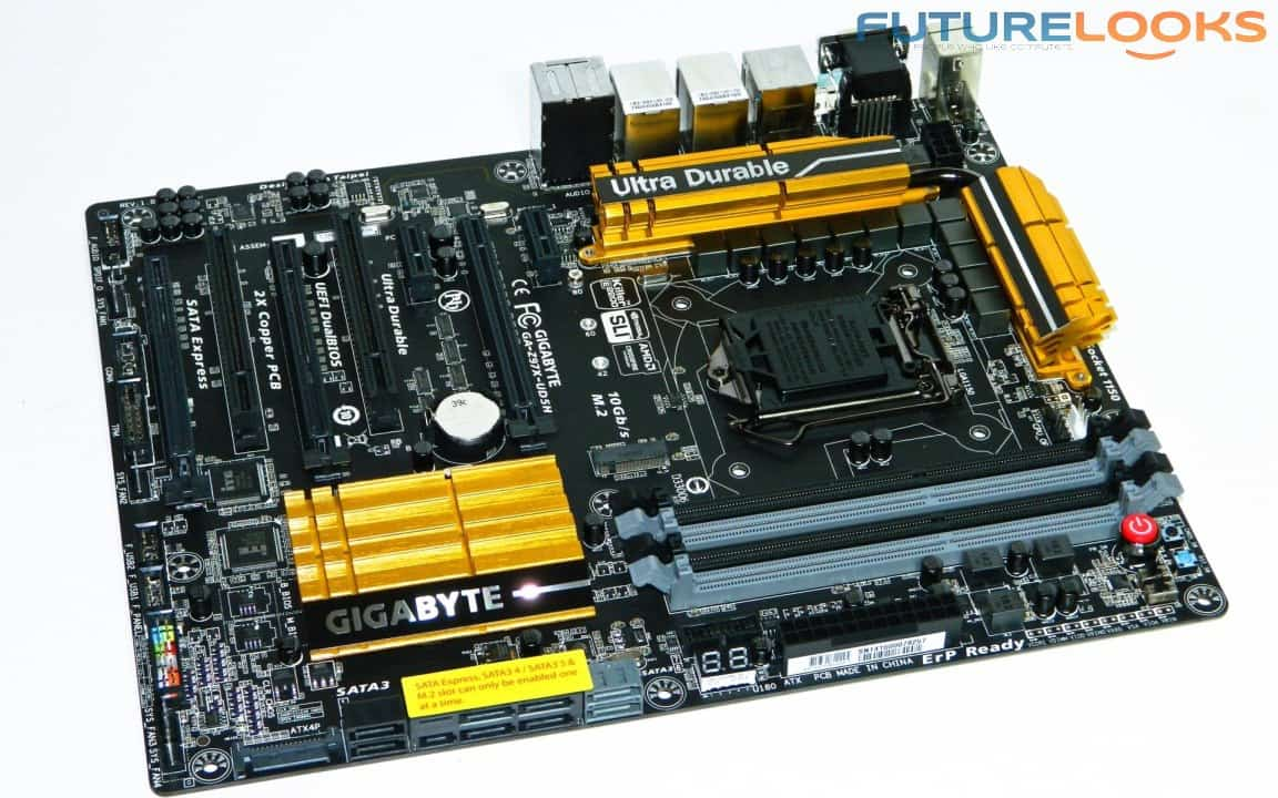 The GIGABYTE GA-Z97X-UD5H Next Generation Intel Motherboard Previewed