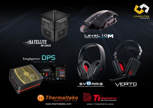 Pre-COMPUTEX 2014 - Five Products from Thermaltake and Tt eSPORTS Win Top Awards