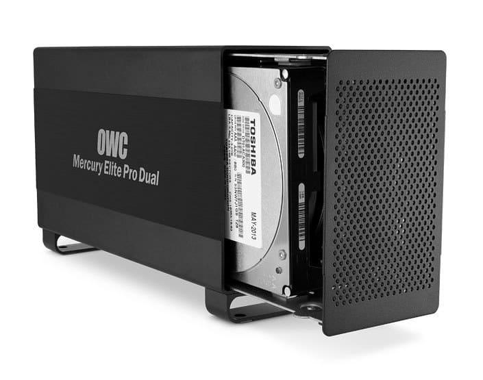 OWC Mercury Elite Pro Dual Brings 10TB RAID to Mac Pro with Thunderbolt