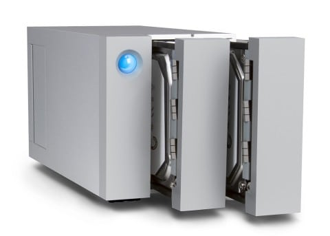 LaCie 2big Doubles the Disks, Brings the Speed with Thunderbolt 2