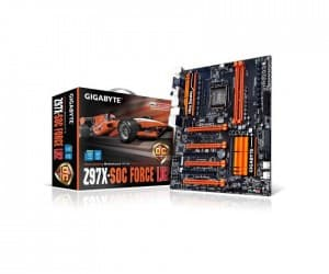 GIGABYTE Z97X-SOC FORCE LN2 Dominates at COMPUTEX 2014 Overclocking Events
