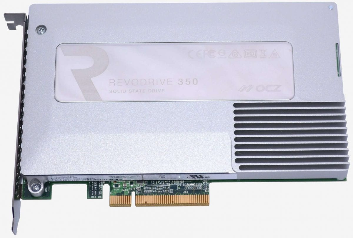 COMPUTEX 2014 - OCZ Wants to Fill Your PCIe Slot with SSD Storage