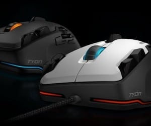 COMPUTEX 2014 - ROCCAT Tyon Evolves the Mouse to Have a Dorsal Fin