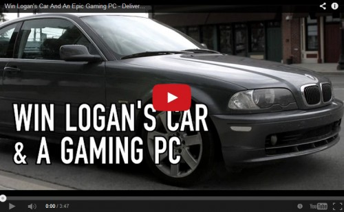 Fractal Design Teams up with Youtuber to Give Away Old Car and New Computer