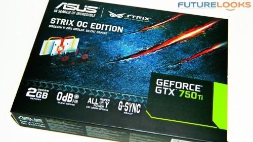 ASUS STRIX GTX 750 Ti Video Card 1