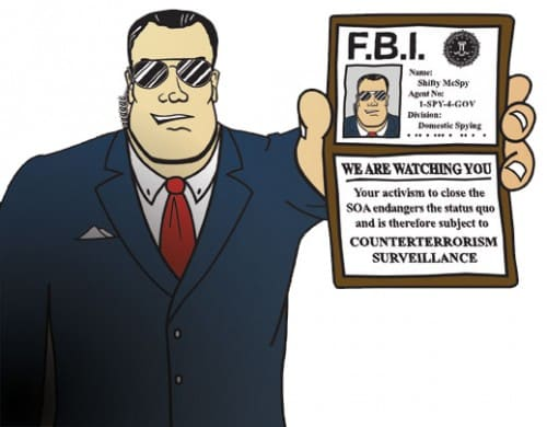 You Are Not Paranoid; the FBI Is Spying on You